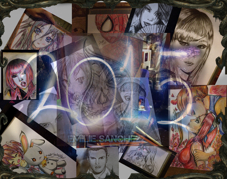 THX for 2015 DeviantART - and see you in 2016 by ESanchezz-Drawing