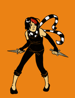 Knives Chau 17 years old by Le-Sushi