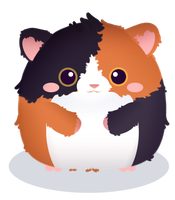 Fat Hamster by misosazai-are