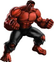 Red Hulk Avengers Allaince by ps2105