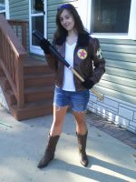 Fem!2p!America Cosplay! ._. by AmericanBlackSerpent