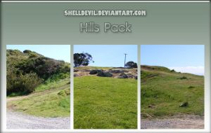 Hills Pack 1 by shelldevil