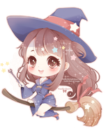 Little Witch Akko by Vanilla-Cherie