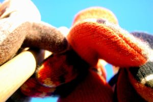 Hanging Mittens II by ChappyApple