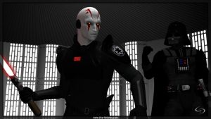 Rebels - The Inquisitor by Crimsonight