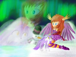 CE: Lovely Aurora Borealis (LOST) by lifegiving