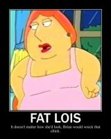 Fat Lois Griffin by AkiHannah
