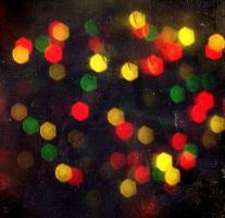 bokeh christmas by hollyjools