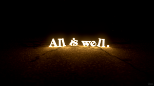 All is Well by reynante