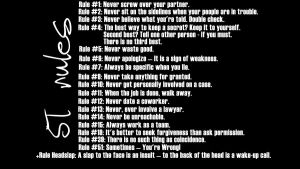 Gibbs's Rules by zsorzset