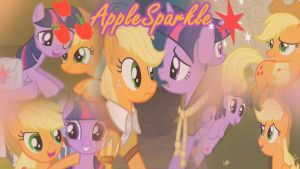 AppleSparkle/TwiJack Wallpaper by DrakkenlovesShego12