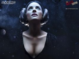 Princess Leia Walpaper 1600x1200 by MaLize