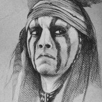 Johnny Depp Tonto Sketch by ChinMa