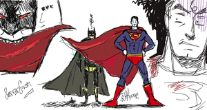 Batbitesupcollab by Sanzo-Sinclaire