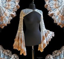 Bolero flared sleeves, Somnia Romantica by M Turin by SomniaRomantica