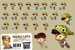 Nooby Larry Spritesexample by gorgonzola3000
