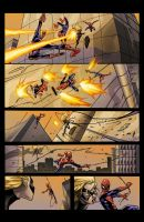 spiderman vs Ms Marvel page 8 by SiriusSteve