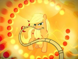 Applejack Wallpaper by XxStrawberry-RosexX