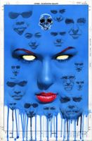 Mystique 22 Cover by mikemayhew