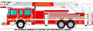 Acre County Fire Dept. Ladder 38 by MisterPSYCHOPATH3001
