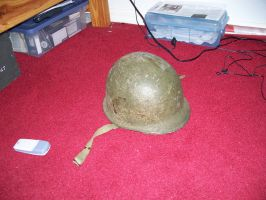 M-1 Army Helmet WWII 4 by Jan3090