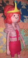 My Needle Felted Princess Bubblegum Plushie by CatsFeltLings