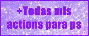 Pack todas mis actions (170 watchers) by celesthe1