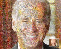 Biden photo mosaic by drsparc