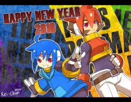 -Happy New Year 2010- by Keichan411