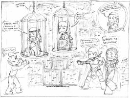 DungeonS-and-DragonS COMIC by LadyNorthstar