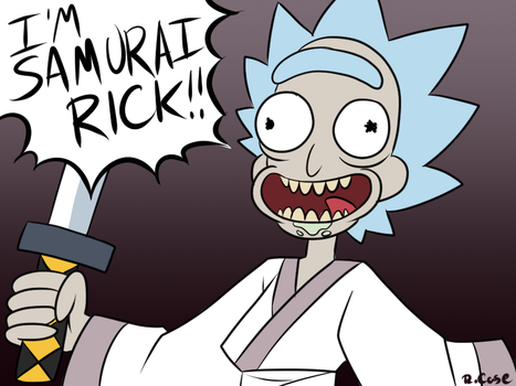Samurai Rick by rongs1234
