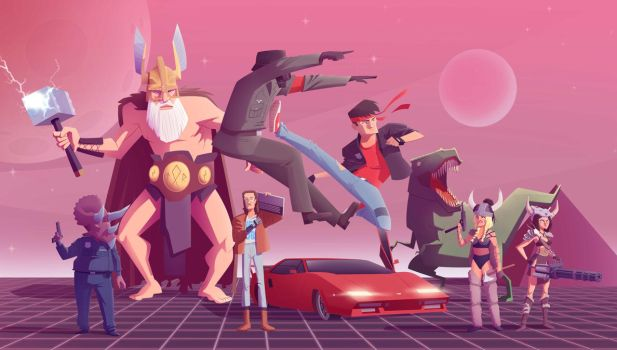 Kung Fury by mei13