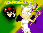 Happy Mardi Gras 2015 by MsLunarUmbreon