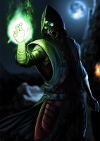 The Enigmatic Ermac by areevecroixhydeist
