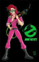 Janine Melnitz : Ghostbuster by Bleezer