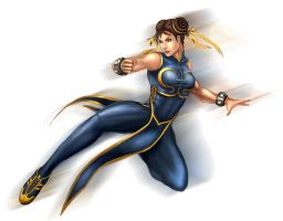Street Fighter-Chun Li by YamaOrce