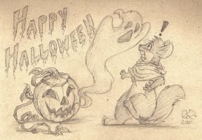 Happy Halloween 2011 by MalimarTheMage