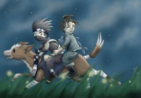 a little night ride by obiewolf