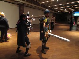 Marth and Lucina cosplay by videogameking613