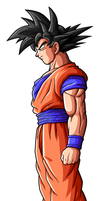Goku Normal by drozdoo