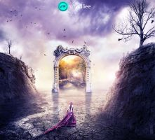 World dream by CharllieeArts