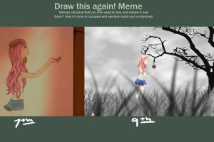 Draw It Again Meme by amezaga98