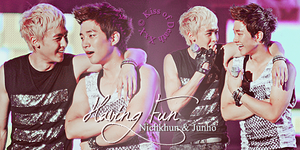 "KhunHo ""Having Fun"" by KissOfDeathXxX"