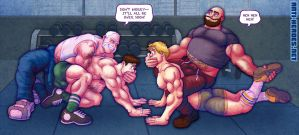 Wrestling Fourgy 06 of 09 by ANTI-HEROES
