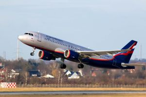Aeroflot Airbus A320 by Budeltier