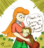 A Thank you Hug for Lizbeth! by MinionKing