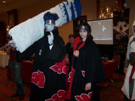 A-kon: Itachi and Kisame by DemonKaizoku