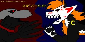 WHEN WORLDS COLLIDE by WolfAsh