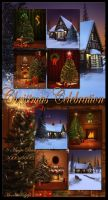 Christmas Celebration backgrounds by moonchild-ljilja