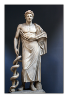 Vatican Statues 2 -- Asclepius by ProxyDave